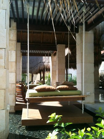 Azul Beach Resort Riviera Maya:                                     Beautiful chill-out zones in the lobby