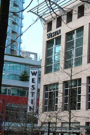 The Westin Grand, Vancouver: View of Hotel