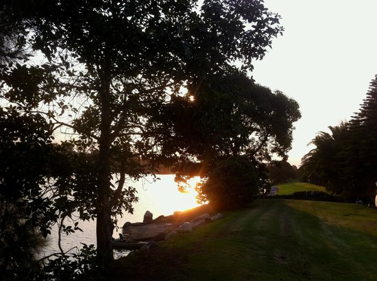 Riverbreeze Holiday Park : lovely sunset