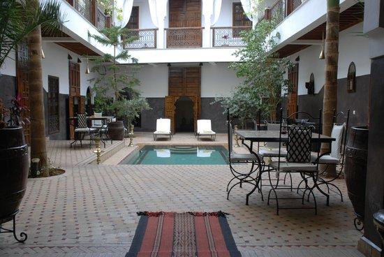 Riad Kasbah : Patio interior