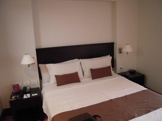Lugano Hotel: Comfy bed