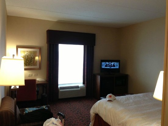 Hampton Inn Owings Mills: King Bed