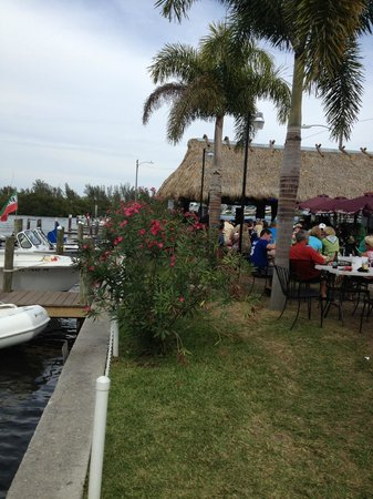 Miceli's Restaurant: outside, waterfront dining