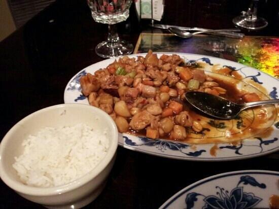 Great China Restaurant: kung bau chicken