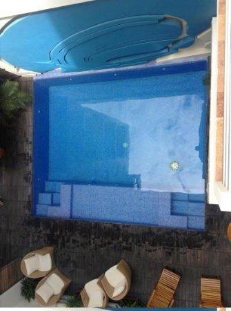Hotel Bahia Chac Chi: Desde el balcon.