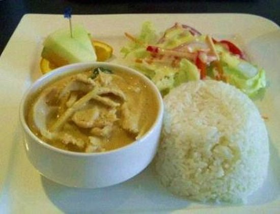 Thai House Cuisine : Red Chicken Curry