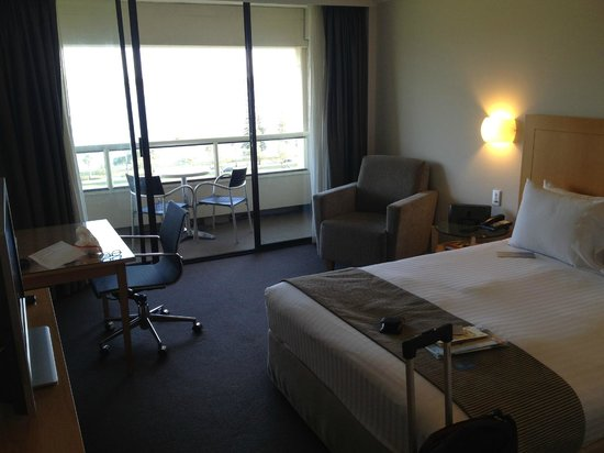 Crowne Plaza Perth: View of room