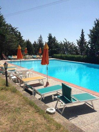 La Fontaccia : piscina