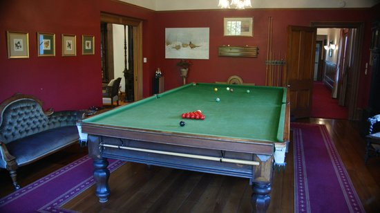 The Marlborough Lodge: Billiard Room