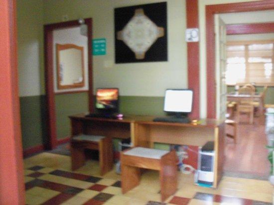 Hotel Aranjuez: Internet area