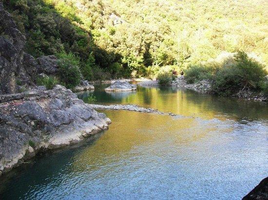 La Fontaccia: fiume cecina
