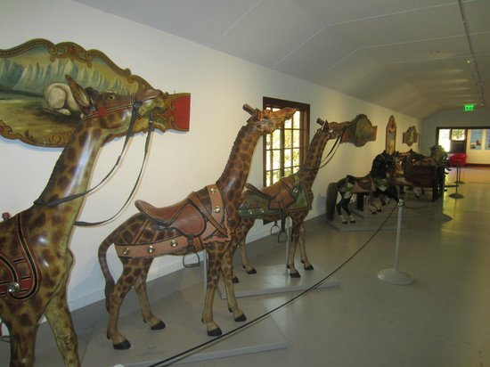 Shelburne Museum: Circus exhibit
