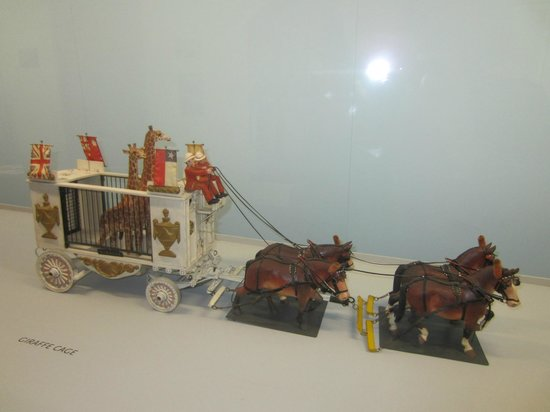 Shelburne Museum: Miniature circus