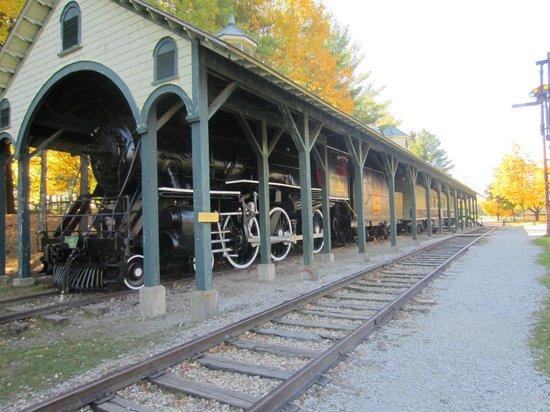 Shelburne Museum : Train station