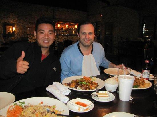 Chin Chin Chinese Restaurant : dinner