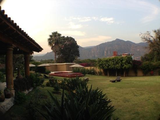 vista panoramica desde el jardin de La Milagrosa