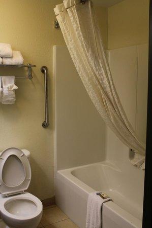 Baymont Inn & Suites Columbia Fort Jackson: Suite Bathroom