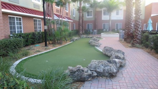 Homewood Suites by Hilton - Port St. Lucie-Tradition :                   mini golf