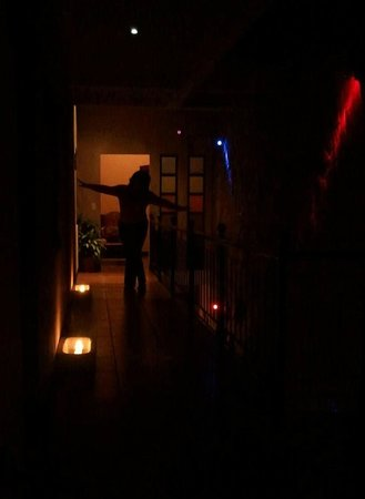 7 Orejas Hostal:                   In front of my room