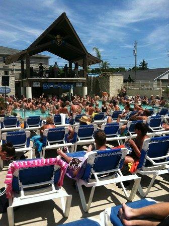 Swim Up Bar - Grand Islander Hotel