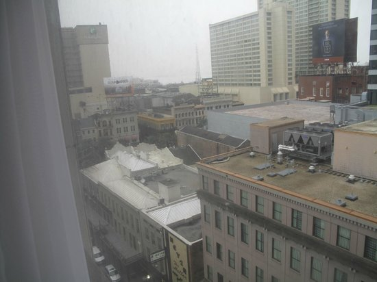 Royal St Charles Hotel:                   GREAT view of NOLA from our room