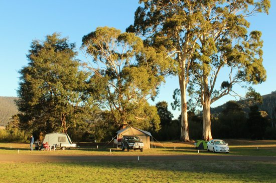 Huon Valley Caravan Park: Campground