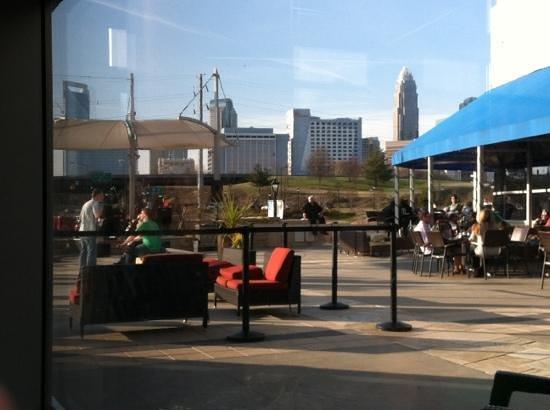 Dresslers Restaurant :                   view
