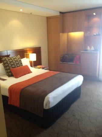 Pullman Brisbane King George Square:                   Room