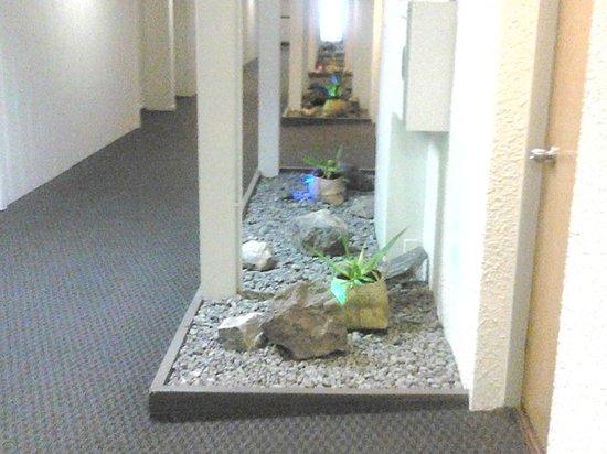 كوبثورن هوتل روتوروا:                   Corridors in the new building                 