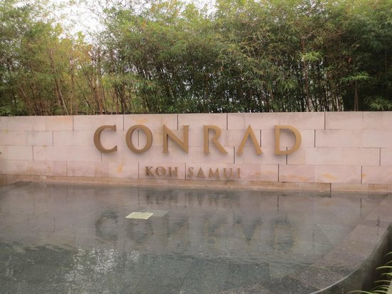Conrad Koh Samui Resort & Spa:                   Welcome Reception