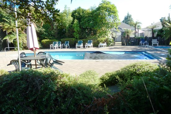Alpin Motel and Conference Centre:                   Outside heated pool