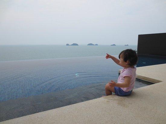 Conrad Koh Samui:                   Plunge pool