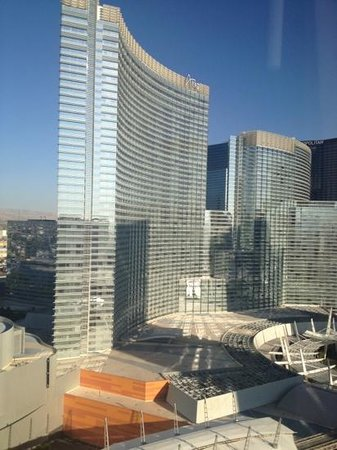 Monte Carlo Resort & Casino:                   View from room. Beside Aria and the new mall.