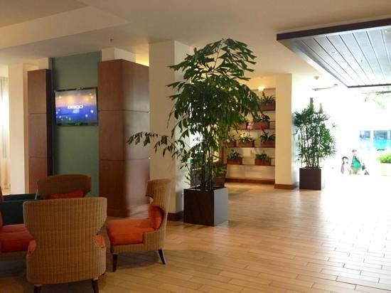 Hyatt Place Waikiki Beach:                   hotel lobby