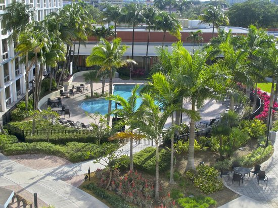 Courtyard by Marriott Miami Airport:                   Pool
