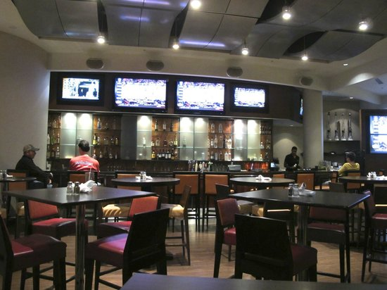 Courtyard Miami Airport:                   Nice bar plenty of HD Sports monitors
