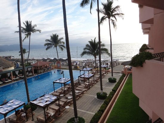 Crown Paradise Golden Resort Puerto Vallarta:                   another angle from balcony of room 3106