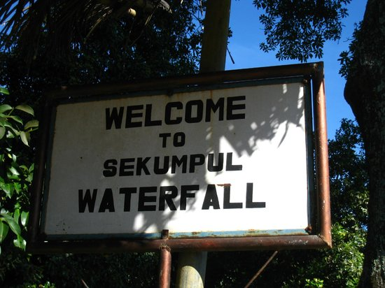 Sekumpul Waterfalls:                   The beginning