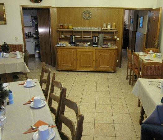 Breakfast Area Picture Of Pension Locarno Munich Tripadvisor