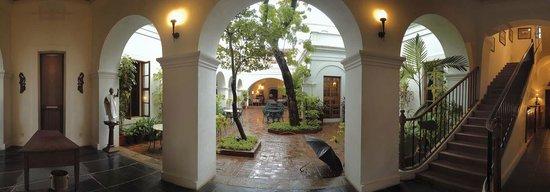 Neemrana's Carte Blanche : The open courtyard-Carte Blanche