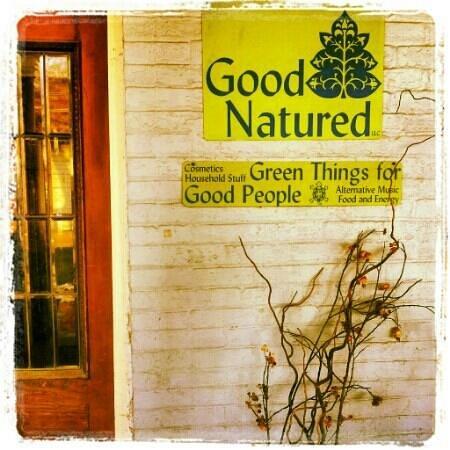 Good Natured Market and Cafe:                   Front entrance