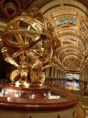 โรงแรมเวเนเชียน รีสอร์ท คาสิโน:                   lobby