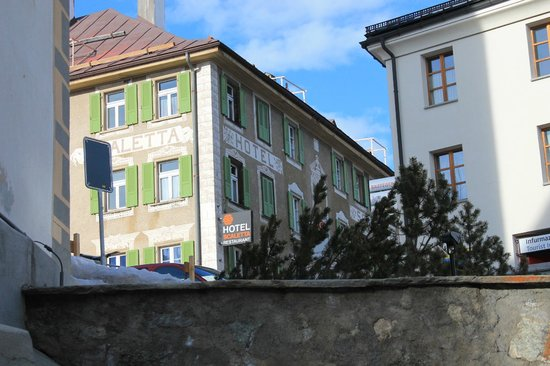 Sporthotel Scaletta: Здание отеля.