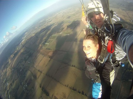 Skydive Yarra Valley: What a view!