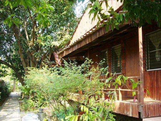 The Garden House: Gartenanlage zum Bungalow