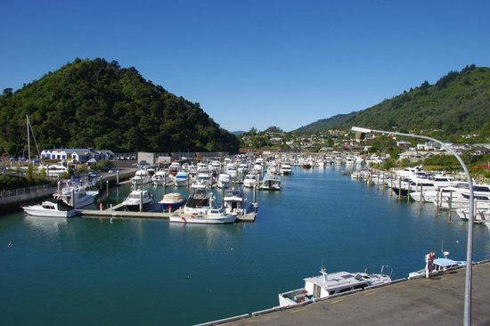 Picton Beachcomber Inn :                   View of Picton Harbour