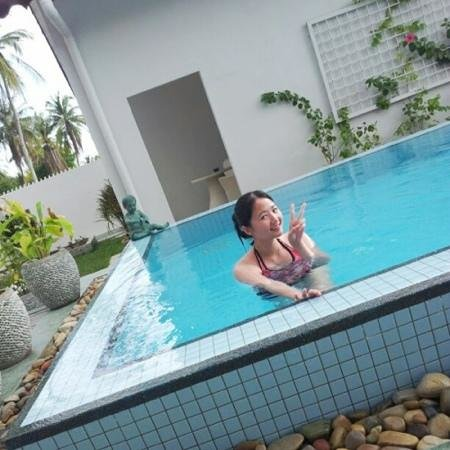 Langkawi Chantique Resort:                   I love the pool so much...