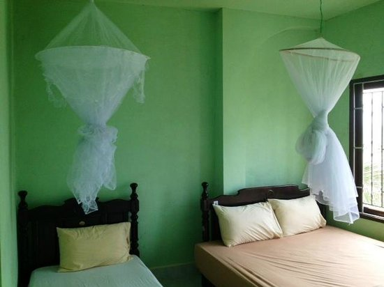 Mesah View Guesthouse: Room with mosquito nets
