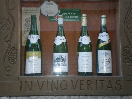 Springiersbacher Hof: vine cellar