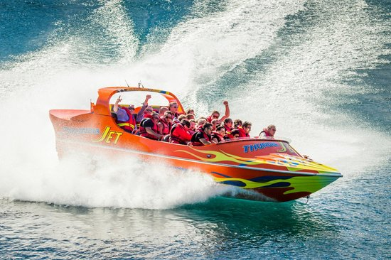 Go Orange Jet Boat